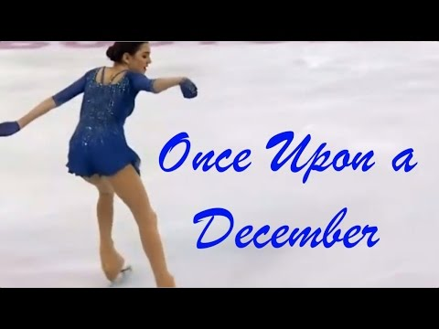 Once Upon a December - Emile Pandolfi concert pianist & Evgenia Medvedeva world skating champion