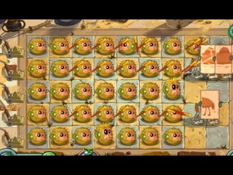 Plants Vs Zombies 2 El ataque Rey Mono (Versión China)
