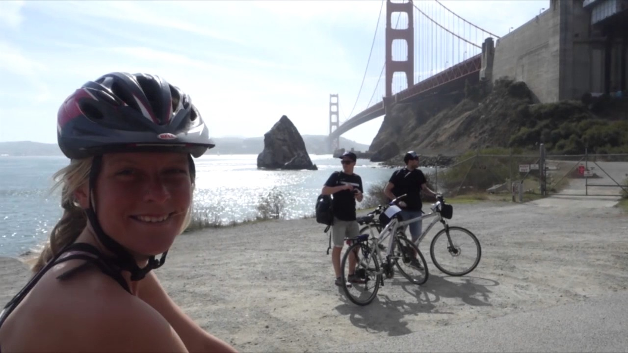 pacific coast bike route in 1 minute- vancouver, canada to tijuana