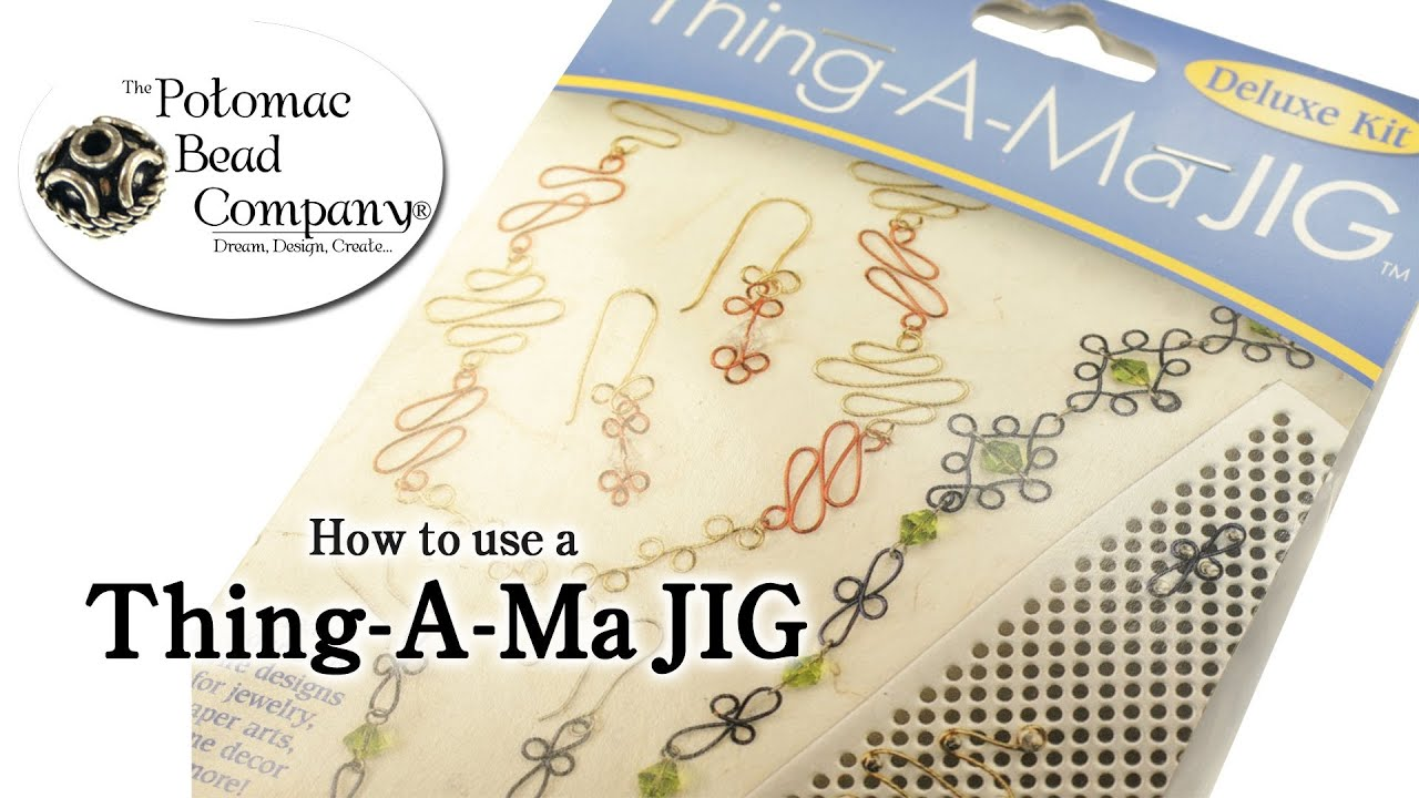 BEADSMITH THING-A-MA JIG DELUXE   WIRE  WORKING KIT