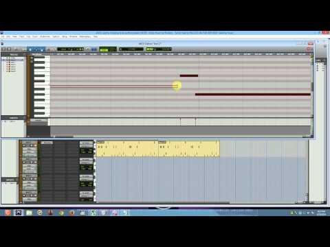 BROADWAY Making A Beat (Test Video)