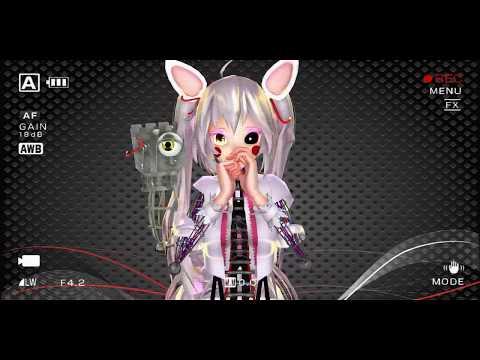 Mangle~ FNAF2 【Kisekae】 MMD x FNAF 2