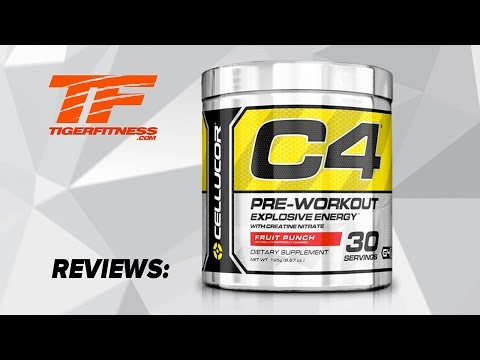 C4 Pre Workout Review | Tiger Fitness