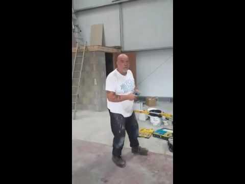 The singing plasterer