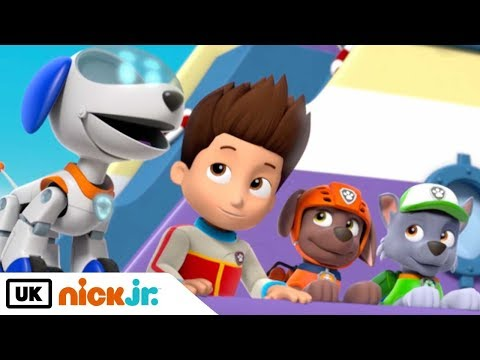 Paw Patrol | Robo Pup | Nick Jr. UK
