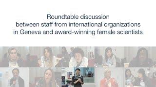 Women Scientists Discussion with International Organization Staff
