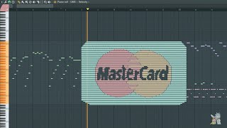 What MasterCard Sounds Like - MIDI Art