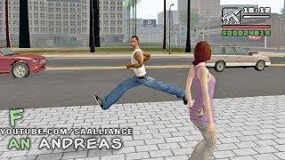 GTA SAN ANDREAS — PARKOUR