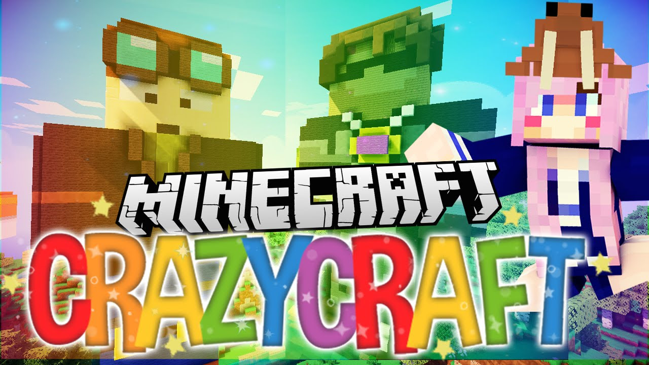 Giant YouTuber Loot! | Ep 6 | Minecraft Crazy Craft 3.0