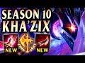 New Meta Kha'Zix Build is GIGA Broken! - Season 10 League of Legends