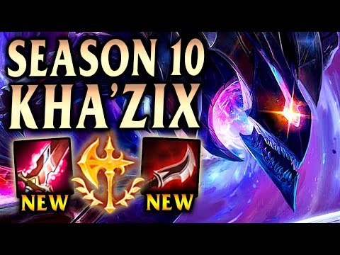 New Meta Kha'Zix Build Is GIGA Broken! - Season 10 League Of Legends