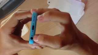 Unboxing iPhone 5c azul en Español (parte 1)