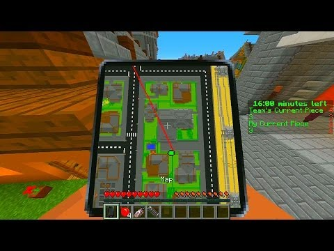 Minecraft Earth To Echo Minigame with Jerome & Ashley