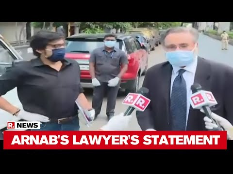Arnab Goswami's Lawyer Sujay Kantawala's Statement Before Mumbai Police's Interrogation