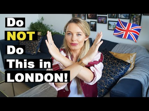 What NOT to do in London | Top things you should NEVER do in UK | Common Tourist Mistakes