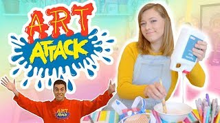 SEGUI UN TUTORIAL DE ART ATTACK!!!