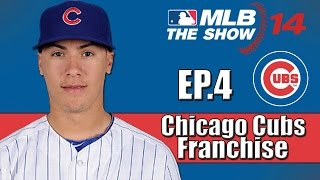MLB 14 The Show- Chicago Cubs Franchise- 2015 Draft & Trade Deadline (Ep.4)