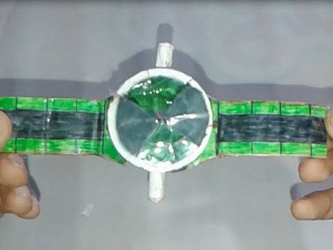 "how to make (paper Ben 10 Alien Force omnitrix )""very easy"""