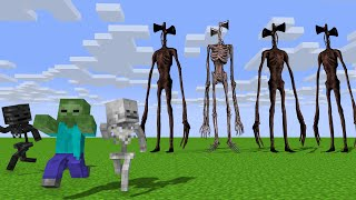 Monster School : SIREN HEAD APOCALYPSE Full Movie - Minecraft Animation
