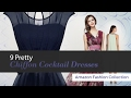 9 Pretty Chiffon Cocktail Dresses Amazon Fashion Collection