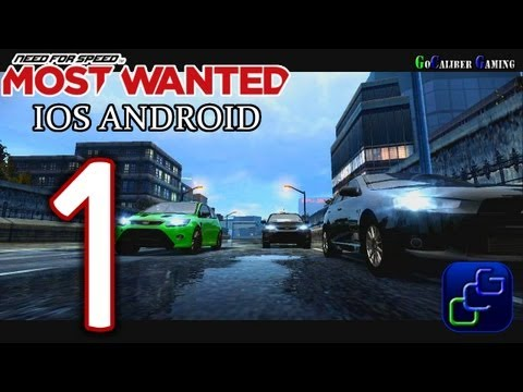 Need For Speed: Most Wanted IOS Android Walkthrough - Gameplay Part 1 - Welcome To Fairhaven