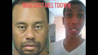 Tiger Woods Mugshot Meltdown
