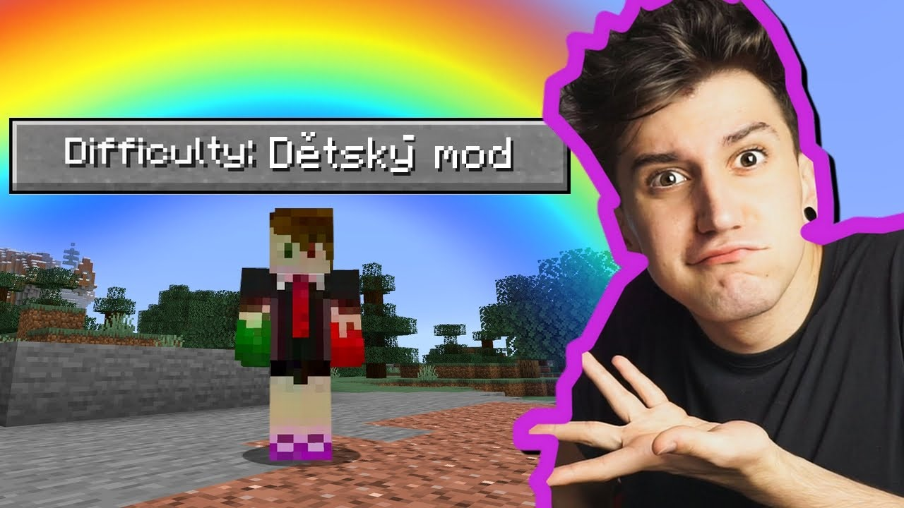 Přidal jsem do Minecraftu DĚTSKOU OBTÍŽNOST ...