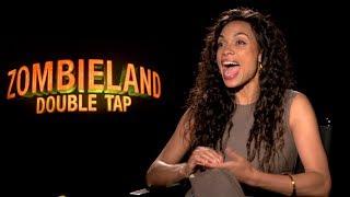 Rosario Dawson Talks ZOMBIELAND: Double Tap And More