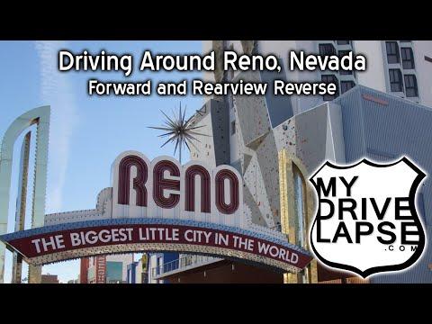 Driving around Reno, Nevada