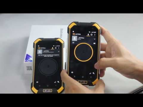 Blackview BV6000 How to access PTT mode, by quick launch button