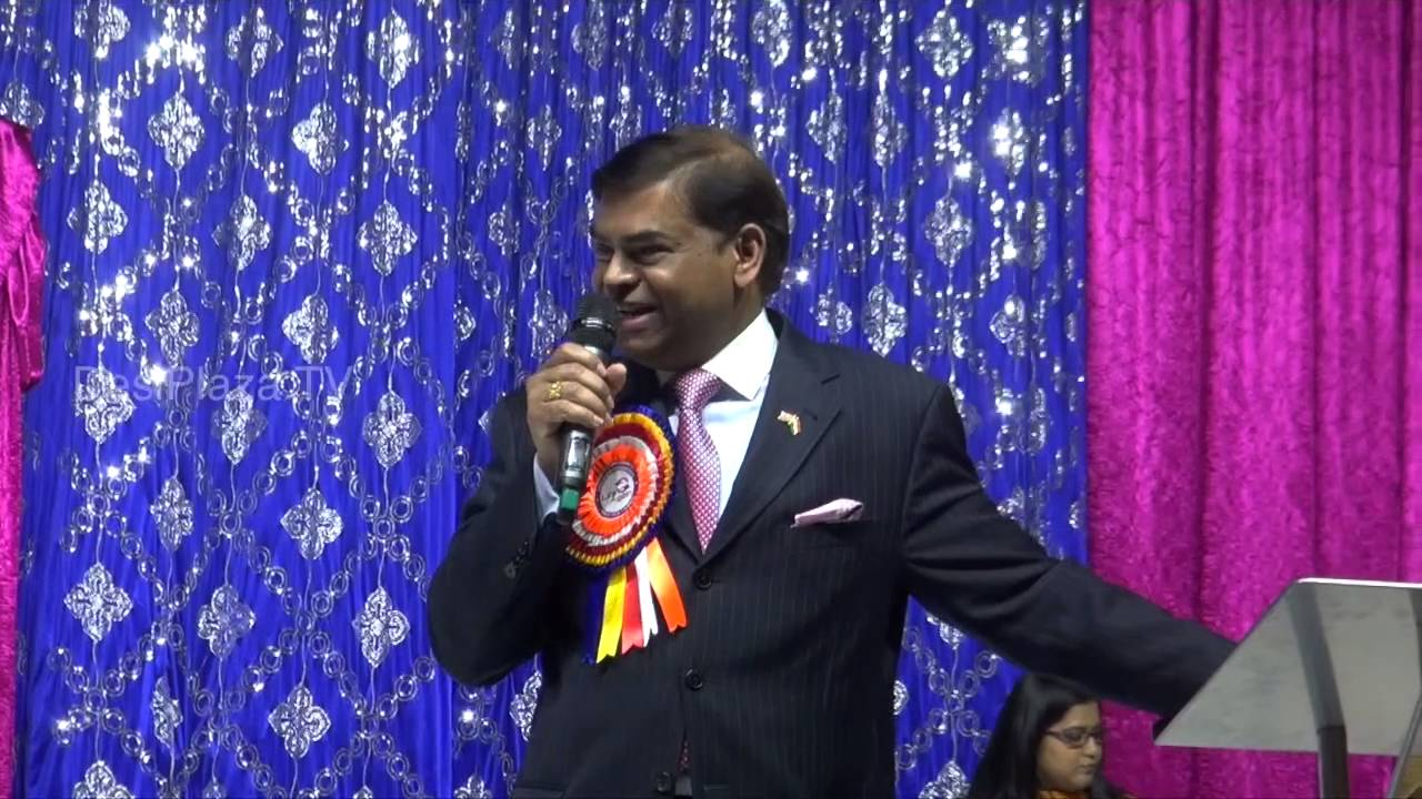 Mr.Hari Eppanapally speaking at Life Again Worldwide Launch  event in DallasTexas.