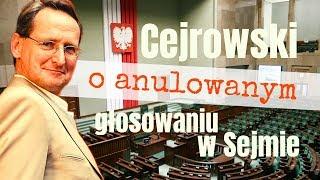 Cejrowski o anulowanym głosowaniu w Sejmie 2019/11/25 Studio Dziki Zachód odc. 34 cz. 2