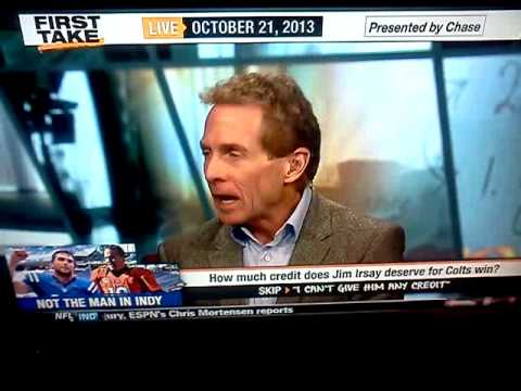 Irsay unclassy to Manning