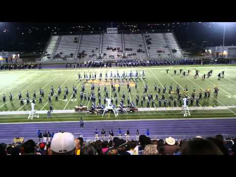 Texas A&M Kingsville Marching Band at San Benito Pigskin Jubilee 2013