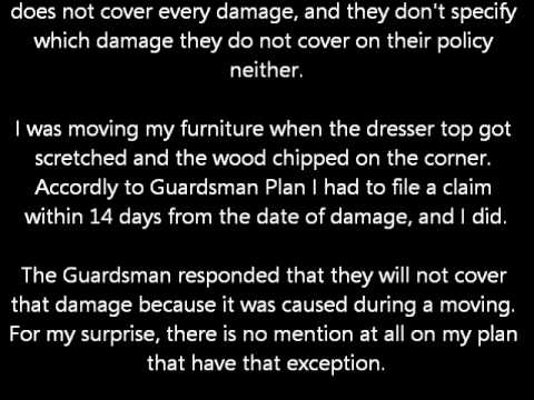 Bob 39 S Furniture Guardsman Protection Plan Reviews Stoughton Randolph Ma Youtube