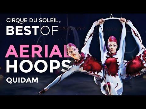 Aerial Hoops Act from Quidam   Best of Cirque du Soleil