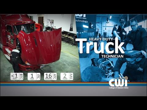 CWI Heavy-Duty Truck Technician Program