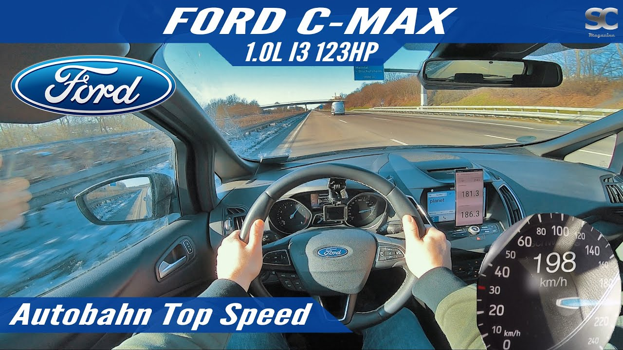 Ford C-MAX (2018) - Autobahn Top Speed Drive POV