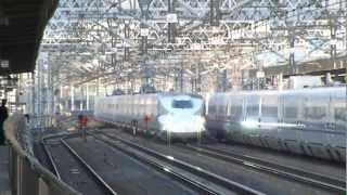【高速通過!】静岡駅を通過する東海道新幹線
