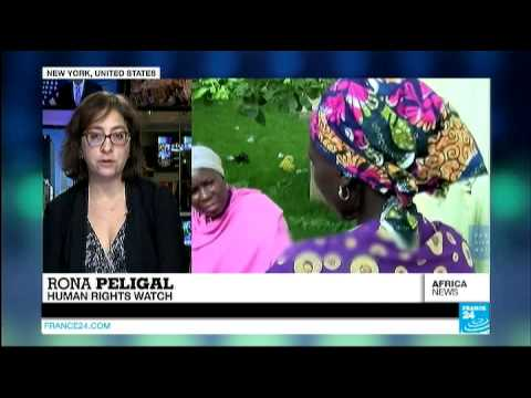 Kidnapped Nigerian women used by Boko Haram on the front line