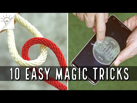 10 EASY MAGIC TRICKS | Thaitrick