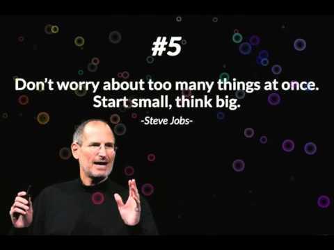 Steve Jobs 12 rules of success