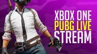 PUBG Xbox One X Live Stream