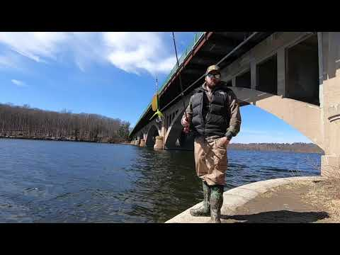 Kensico Reservoir Trout Fishing With No Luck Of Catching Any