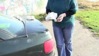 Блеск машины без воды