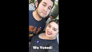 California Primary Election Voting Vlog