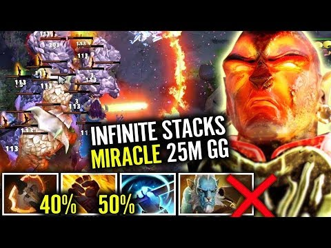 Most EZ FARM of MY LIFE Ember WTF 90% Cleave vs Phantom Lancer Gameplay by Miracle Dota 2