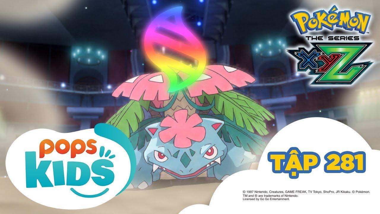 Pokémon Tập 281 – Bản Đặc Biệt Tiến Hóa Mega Mạnh Nhất – Hoạt Hình Pokémon Tiếng Việt S19 XYZ