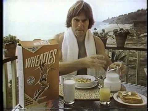 Bruce Jenner 1978 Wheaties Cereal Commercial