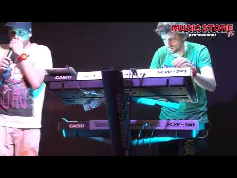 Musikmesse 2012 Eurythmics Sweet Dreams live on CASIO Synthesizer XW-P1 and XW-G1 thumbnail